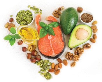 Veggie, Fish and Nut Fats Preserve Heart Health